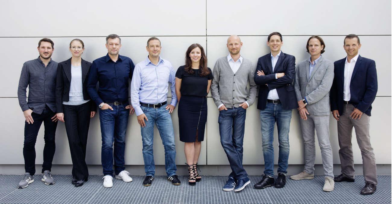 Cluno Team aus Autoexperten, Mobilitätsberatern, Designern und Entwicklern