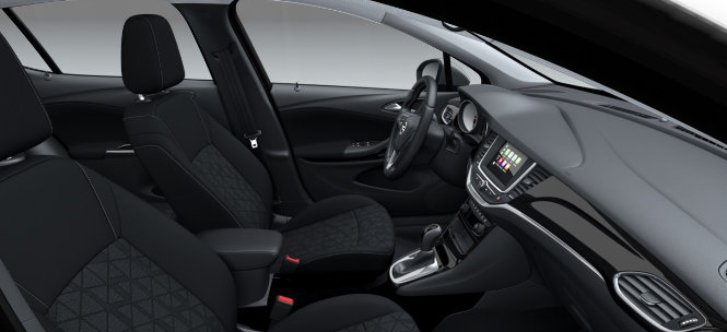 Opel Astra Sondermodell Automatik